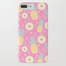 Pink Pinapple iPhone 7 Plus Slim Case