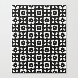 MARTA BLACK Canvas Print