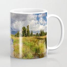 The Grand Tetons Panorama Coffee Mug