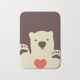 Hearty bear paws Bath Mat