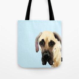 Great Dane Art - Dog Painting by Sharon Cummings Tote Bag