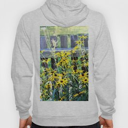 Fence and daisys Hoody