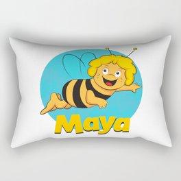 Maya the Bee Rectangular Pillow