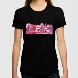 Tropical Homes – Pink Ombré T-shirt