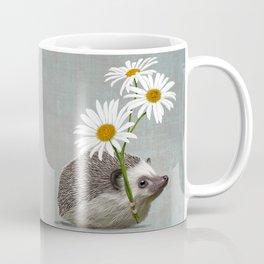 Hedgehog in love Coffee Mug