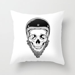 SAFETY DEAD Throw Pillow