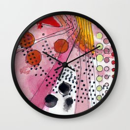 Abstract Untitled (Circles) Wall Clock