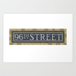 96th Street Art Print