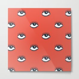 EYES POP Metal Print