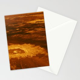 Venus - 3-D Perspective View of Lavinia Planitia | Spacer Collection Stationery Cards
