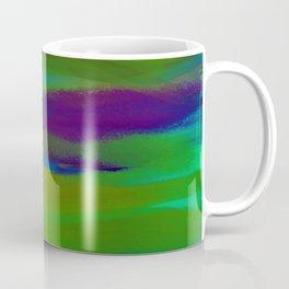 Green Mardi Gras Abstract Coffee Mug