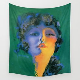 """""""Girl of My Dreams"""" Pinup by Rolf Armstrong Wall Tapestry"""