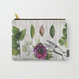 Botanica I Plants and Flowers Carry-All Pouch