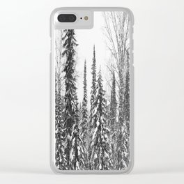 Winter 9 Clear iPhone Case