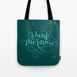 Punk Mermaid Tote Bag