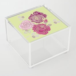 Spring Roses Acrylic Box