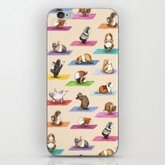 The Yoguineas Collection - Namast-hay! iPhone Skin