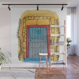 Do you want to come in? My door and my heart are open to you. Wall Mural