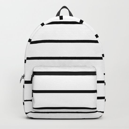 Minimalist Stripes Backpack