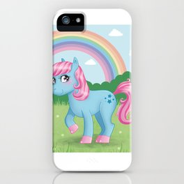 Cute little pony iPhone Case