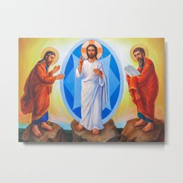 Transfiguration Of Jesus Metal Print