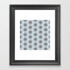 Minta's Floral Framed Art Print