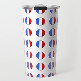 Flag of France 15- France, Français,française, French,romantic,love,gastronomy Travel Mug