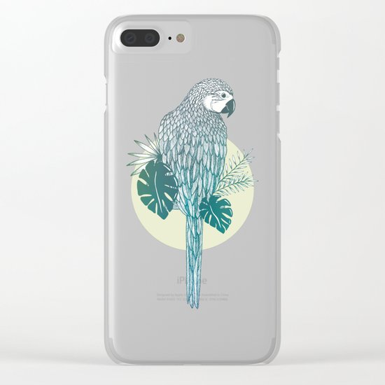 Pappagallo Clear iPhone Case
