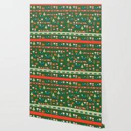 Santa's Christmas laboratory Wallpaper