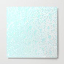 Carbonated Water Metal Print