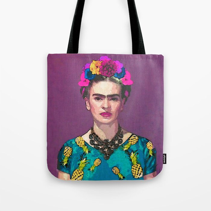 VIDA Tote Bag - Oh Oh fashion Tote by VIDA DeJWiYWe