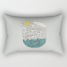 Emerson: Live in the Sunshine Rectangular Pillow