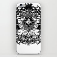 all seeing eye iPhone & iPod Skins featuring All seeing eye by Tshirt-Factory