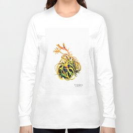 Tillandsia Xerographica Air Plant Watercolor Long Sleeve T-shirt