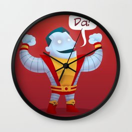Little Colossus Wall Clock