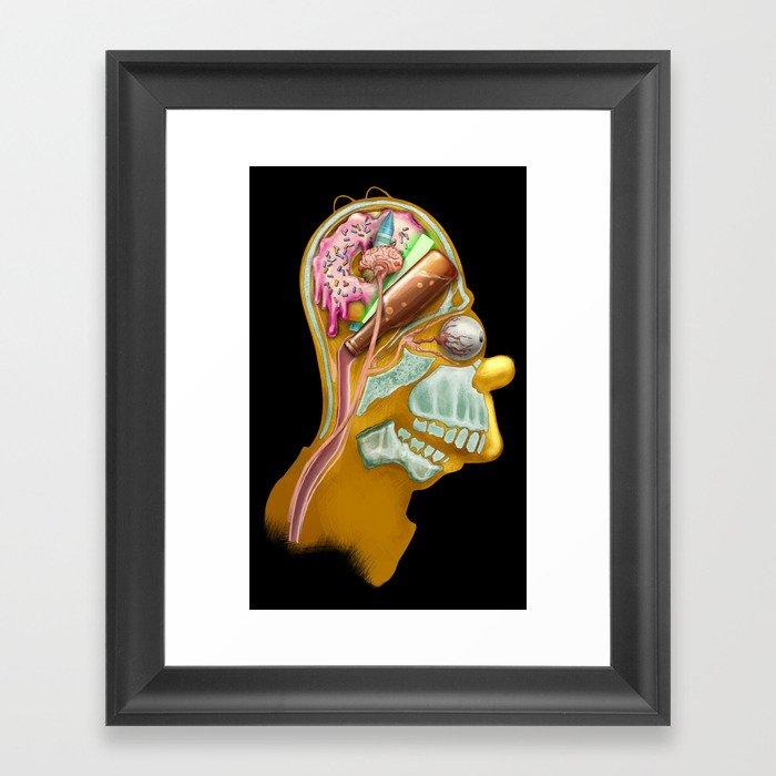 Homeric Thought Framed Art Print