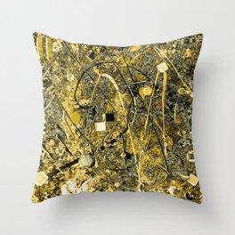 Power of Gold Throw Pillow