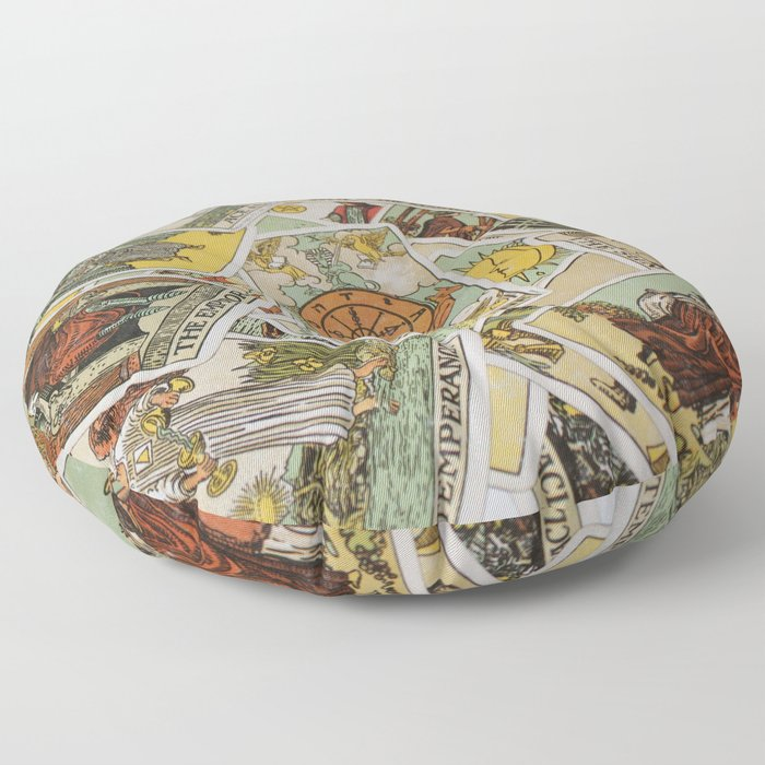 Tarot Cards Floor Pillow