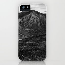 Hatcher Pass Without Color iPhone Case