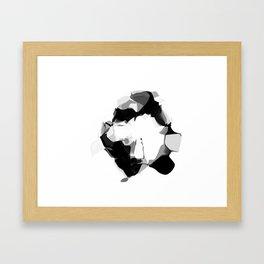 """MNIST """"ZERO"""" Framed Art Print"""