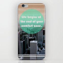 Life Begins  iPhone Skin