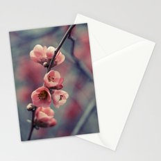 Flowering Quince Stationery Cards