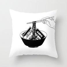 Enjoy Your Meal Throw Pillow