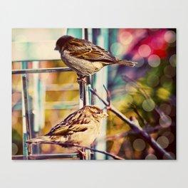Birds on the Highline Canvas Print