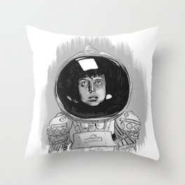 Ellen Ripley Alien Throw Pillow