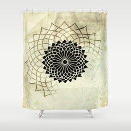 Circle String Shower Curtain