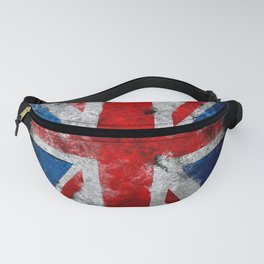 Great Britain grunge flag Fanny Pack