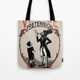 Ye Oldé Vintage Pretension Tote Bag
