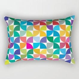 Geometrical work - Colours rotation Rectangular Pillow