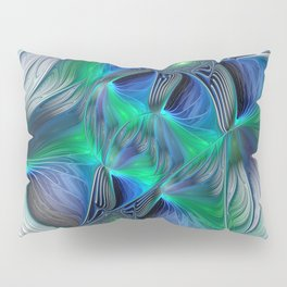 Fantasy Place, Abstract Fractal Art Pillow Sham